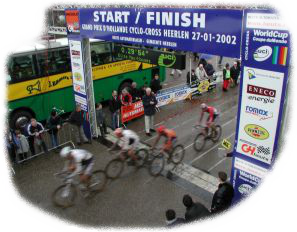 Heerlen, the Netherlands, UCI Cyclo-Cross World Cup, 2002